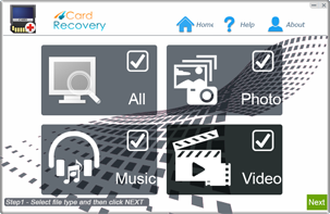 Freeware to recover memory card photos videos